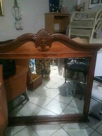 Mahogany Mirror for Dresser