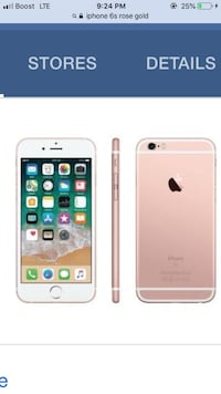 iPhone 6s rose gold  Woonsocket, 02895