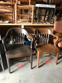 Vintage executive office chairs! One left $20