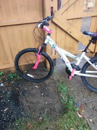 white and purple Mongoose BMX bike Washington, 20011