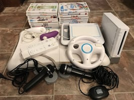 Nintendo Wii With Accessories and Games For Sale!
