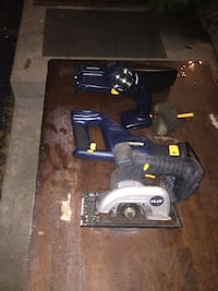 Cordless tools brand new no charger or battery