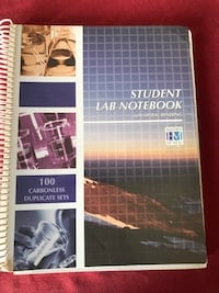 Student Lab Notebook / carbonless duplicate sets