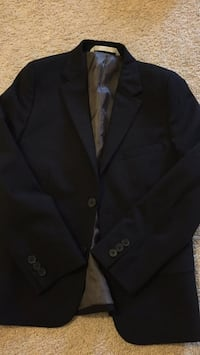 black notched lapel suit jacket 洛克維爾, 20852