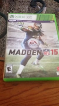 Madden 15 for xbox360 no manual  Mount Prospect, 60056