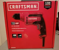 CRAFTSMAN 7-Amp 3/8-in Corded Drill (CMED731) Burnaby
