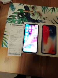 IPhone x 256 GB lite brukt  6246 km