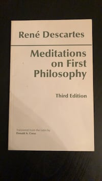 Meditations on First Philosophy- Rene Descartes (3rd edition)