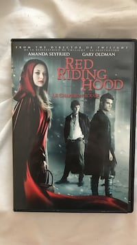 Red Riding Hood DVD case