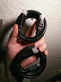 2 NEW HDMI CABLES
