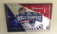 Patriots Champion Budweiser sign Quincy, 02169