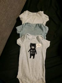 Carters 6 month onsies East Gwillimbury, L0G 1R0