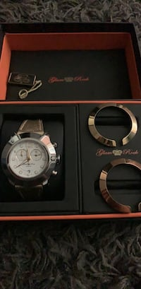 Watch W/ interchangeable faces; silver, gold and rose-gold Ocoee, 34761