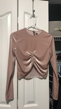 Suede long sleeve  Nanaimo, V9S 5S6