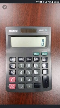 black Casio FX-82MS calculator