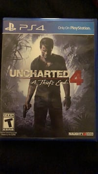 Uncharted 4 ps4 game Lancaster, 93534