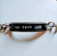 Tiffanys and Co. name plate bracelet Colorado Springs, 80909