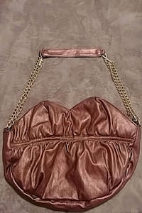brown leather crossbody bag with fringe 1624 mi