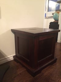End table with storage  Toronto, M5V 3A6
