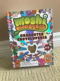 Moshi Monster hard cover book Kitchener, N2P 2S7