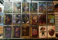 Legend of Zelda trading cards Enterplay Toronto, M1H