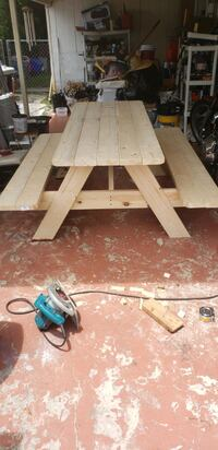 picnic table built to order Hollywood