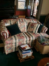 2 loveseats and a coffee table  Frederick