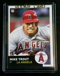 Mike Trout ACEO RP Beautiful Card, Great Condition