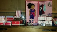 two pink and white doll house 117 mi