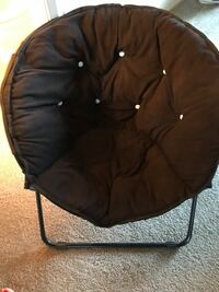 Black Chair (fabric snagged on back) Hanford, 93230