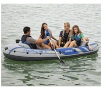 Intel Excursion 4 person inflatable boat NEW Toronto, M6M