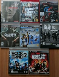 Lot of PS3 games Alexandria, 22304