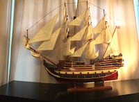 white galleon ship scale model Vaughan, L6A 4E5