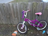 toddler's pink and white bicycle Chesapeake, 23325