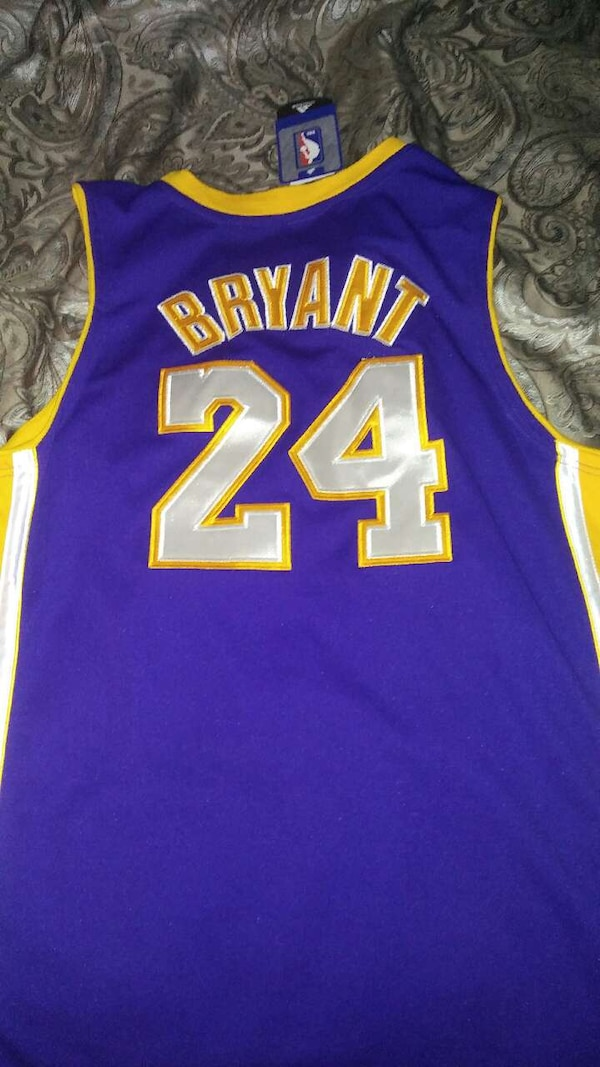 Used Authentic Kobe Bryant away jersey for sale in Youngstown - letgo 1af7dc3eb9f9