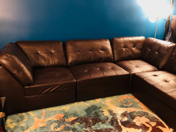 Sectional Sofa Set #dark brown #Excellent Condition 747980bf-7616-4066-94fa-8783a2d78ff4