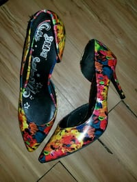 floral print pointed-toe pump size 10 Altamonte Springs, 32714
