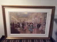 group of people dancing inside room painting in brown frame Trois-Rivières, G8W 2T1