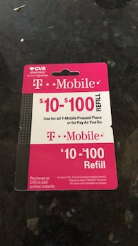 T Mobile $90 loaded card Temple Hills, 20748
