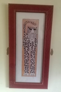 painting of leopard with brown frame Quinte West, K8R 1B8