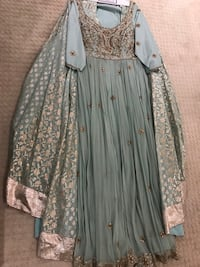 Lengha purchased from made in India for sale - worn once! Surrey, V3R 6W9