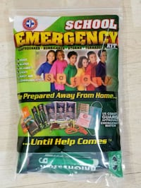 First aid kit for students and homes