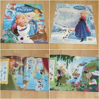 Disney Frozen - First Look And Find Book Surrey