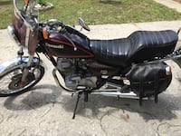 black and gray cruiser motorcycle Hastings, 32145
