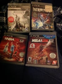 Sony ps3 video games in excellent condition cash only no trades. Memphis, 38118