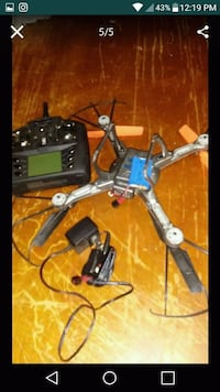 black and gray quadcopter with controller San Antonio, 78228