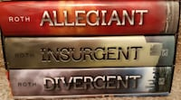 Divergent Insurgent Allegiant Set by Veronica Roth 2013, Hardcover First Edition Newmarket