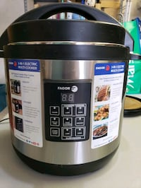 Countertop 3 in 1 pressure, rice, slow cooker Milford