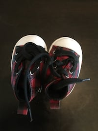 pair of black-and-red Nike basketball shoes Huntington Beach, 92646