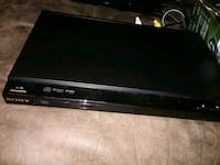 black Sony DVD player with remote Frederick, 21701